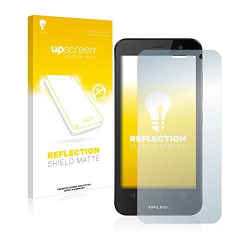 upscreen Entspiegelungs-Schutzfolie kompatibel mit TP-Link Neffos Y50 – Anti-Reflex Bildschirmschutz-Folie Matt
