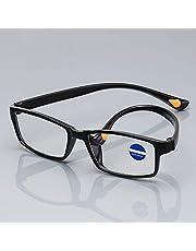 ブルーライトカット 老眼鏡 抗UV 疲労の軽減 TR90 軽量 超弾性素材 贈り物 4点セット 度数 + 2.0