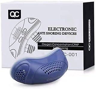 電気いびき防止器抗いびき鼻プラグ空気清浄機ベントUSB充電式抗いびきデバイス無呼吸エイド停止いびきノーズクリップ 快適な睡眠