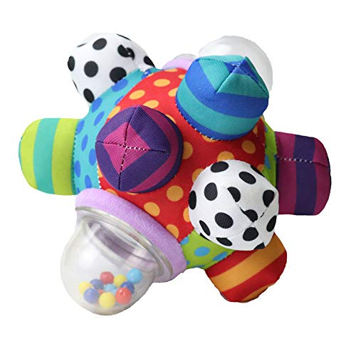 Developmental Bumpy Ball,Easy to Grasp Developmental Bumpy Ball Help Develop Motor Skills for Ages 6 Months and Up