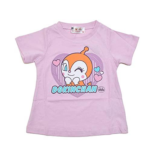 アンパンマン 半袖Tシャツ ドキンちゃん (SA3275) (ピンク, 90, numeric_90)