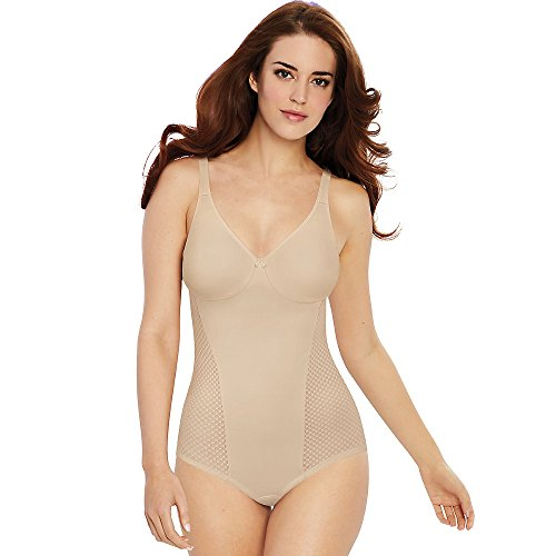Bali Womens Passion for Comfort Minimizer Body Shaper, 36D, Soft Taupe