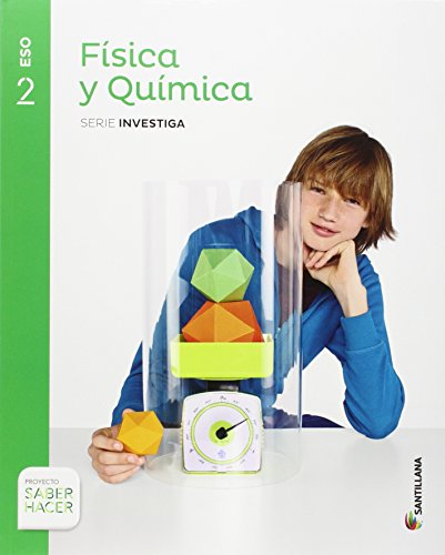 FISICA Y QUIMICA SERIE INVESTIGA 2 ESO SABER HACER - 9788468019529