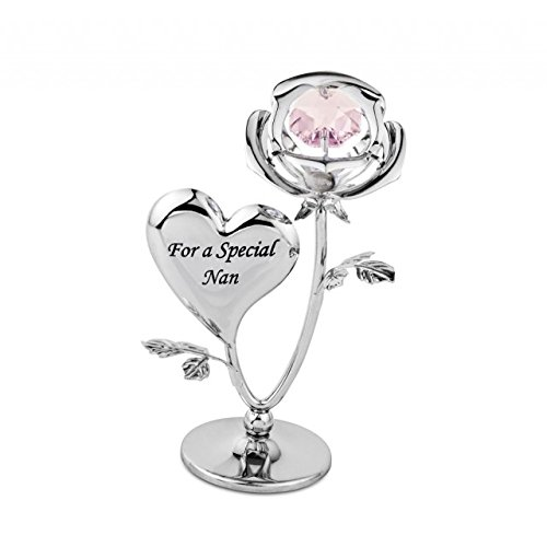 Crystocraft 'For a Special Nan Ornament with Swarovski Crystal