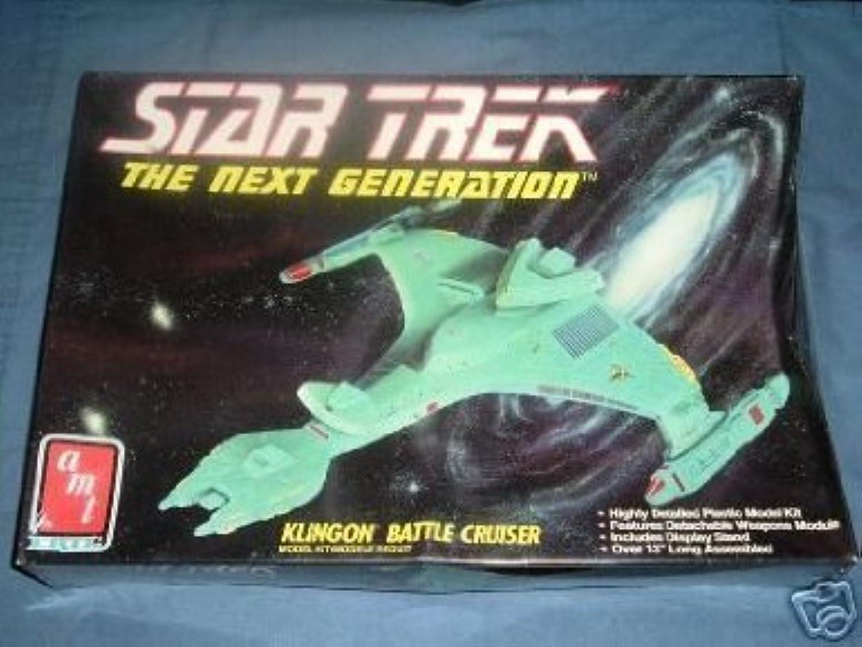 precio mas barato Estrella Trek The Next Generation Klingon Battle Cruiser Model Model Model Kit by amt ertl  Más asequible