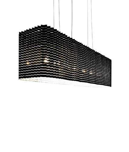 Luceplan Plisse Pendelleuchte, schwarz 1D6200000001