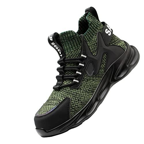 Acero Ultraligero Zapatos de Trabajo,Transpirable Zapatos de...