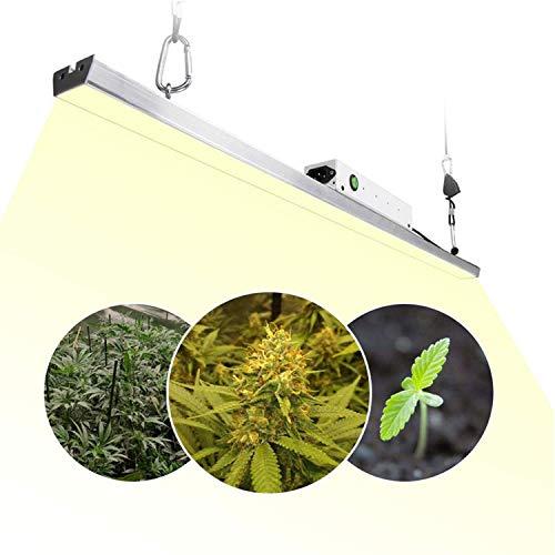 Preisvergleich Produktbild LED Pflanzenlampe 300w 3.2Ft / 1m Pflanzenlicht Sonnenähnliches Pflanzenleuchte Vollspektrum Wachstumslampe für Zimmerpflanzen Samen Blumen mit 140 3500K Samsung Quantum LED Board