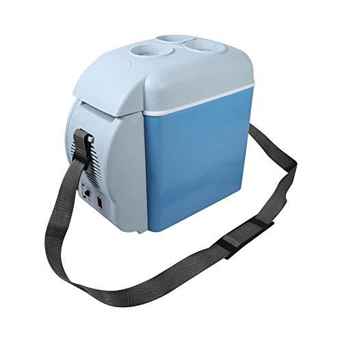 7.5L Mini Kühlschrank Elektrische Kühlbox Auto Kühlschrank Warmhaltebox Gefrierschrank Campingkühlschrank mit Getränkehalter zum Warmhalten Kühlen für Auto, Boot und Camping, 12 V, 31 * 16,5 * 30 cm