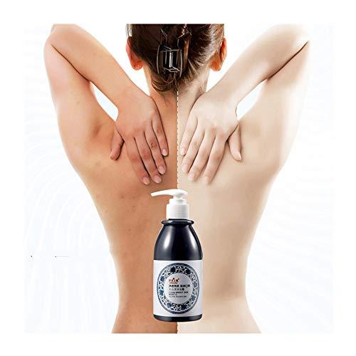 pathside Whitening Shower Gel, Skin Whitening Volcanic Mud Shower Gel - Deep Cleaning Whitening Moisturizing, Shower Cream Smoothen & Hydrate Your Skin (250ml)