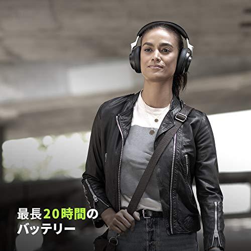 SHUREシュアAONIC50ワイヤレス・ノイズキャンセリング・ヘッドホンSBH2350-BK-Jブラック:密閉型/外音取り込み/Bluetooth5.0/Type-Cケーブル/マイク付き【国内正規品/メーカー保証2年】
