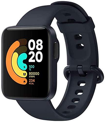 Xiaomi Mi Watch Lite Sport-Smartwatch, HD-Display, 1,4 Zoll, Schlafüberwachung, 6-Achsen-Gyroskop, 7 Sportmodi, Monitor 24/7, 5 ATM, Blau