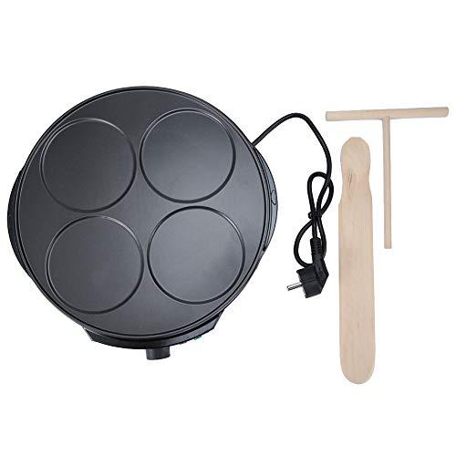 Máquina de panqueques eléctrica Crepe Maker Sartén para hornear Sartén Cocina Suministros para el hogar para niños