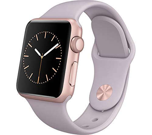 Apple Watch 1.ª Generación (7000) 42mm - Caja De Acero Inoxidable En Plata / Negro Correa Deportiva (Reacondicionado)