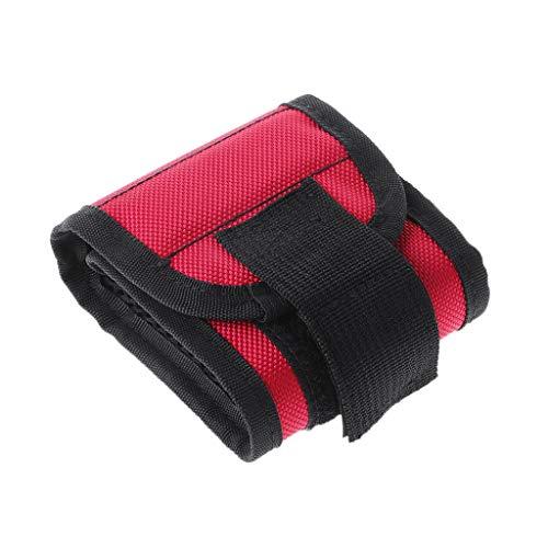 Mikiya Magnetic Wristband Tool Bag Holding Screws Nails Drill Bits Magnet Bracelet Band