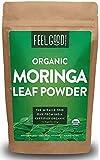 Organic Moringa Oleifera Leaf Powder - Perfect for Smoothies, Drinks, Tea & Recipes - 100% Raw From...