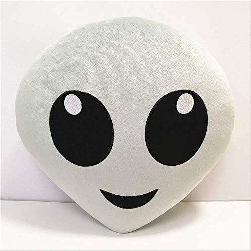 Halloween Puppe Alien, weiche Kissen Umarmung tröstenPlüsch Spielzeug Puppe Kissen Kinder Geburtstag Geschenk über 32 x 32cm