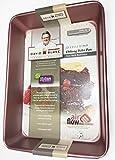 David Burke Kitchen Non-stick Bakeware Oblong Bake...