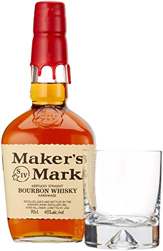 Maker's Mark Kentucky Straight Bourbon Whisky (1 x 0.7 l)