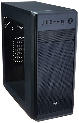 Mid Tower Si-5100 En58348 Gamer Enclosure, Aerocool, Computer Accessories, Black