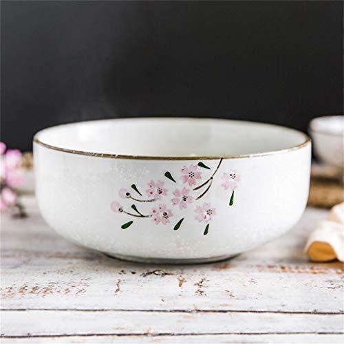 Ciotole di HUAHUA Ciotola di zuppiera in ceramica creativa ciotola di ciliegio giapponese