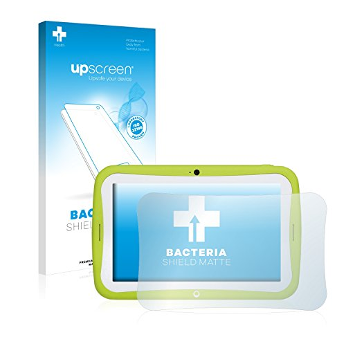 upscreen Antibakterielle Entspiegelungs-Schutzfolie kompatibel mit Blaupunkt 4Kids - Anti-Reflex Bildschirmschutzfolie matt, Anti-Fingerprint