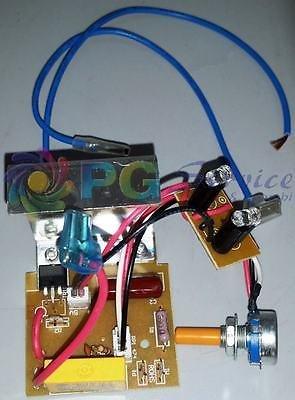 Rowenta - Tarjeta PCB y control regulador de velocidad para escoba eléctrica...