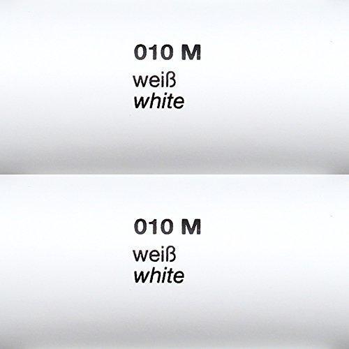 Unbekannt 4,44€/m² Rapid Teck® Matt Folie - 010 Weiss - Klebefolie - 5m x 63cm - Folie Matt Plotterfolie - Klebefolie selbstklebend - auch als Moebelfolie - Dekofolientage