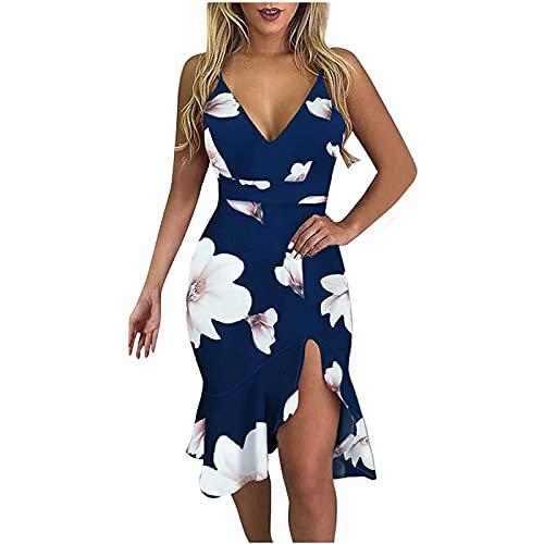 Brautkleid KostüM Schulterfreies Kleid Kleid Mit Punkten Business Kleid Mode Frauen Lose Sexy Sexy V-Ausschnitt Einfarbig Halfter RüSchen HüFte äRmelloses Kleid Sling Rock