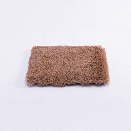 LINZXU-Extra Grote Hond Bed Wasbaar Lange Fluff Huisdier Kat Mand Warm Comfortabele Waterdichte 4 Kleuren Medium A
