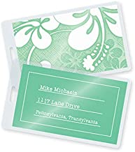 TruLam Laminating Pouches - Luggage Tag Size - with Slot - 2-1/2-Inch by 4-1/4-Inch - 5 Mil Thickness - 500 Per Box - Compatible with Most Pouch Laminating Machines