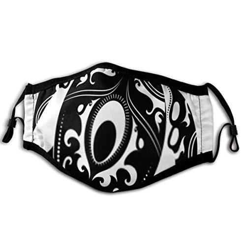 Turtles Maori Style Gesichtsmund Maske Baumwolle Gesichtsmaske Baumwolle, waschbar