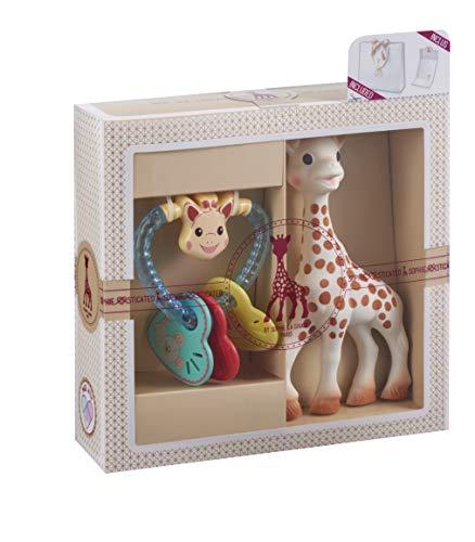 Sophie la girafe Rassel und Beißring Spielzeug Geschenkset für Babys