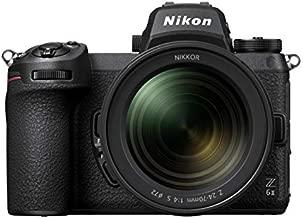 Nikon Z 6II FX-Format Mirrorless Camera Body w/NIKKOR Z 24-70mm f/4 S, Black