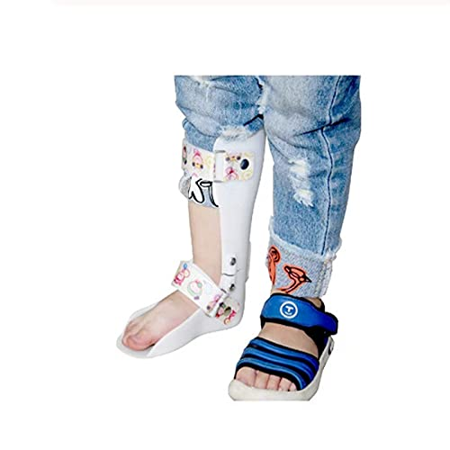 HZYAN Niños Tobillo Pie Español Tirantes Niños Foot Drop Ortesis Tobillo Fractura Rehabilitación Ligamento Lágrima Talipes Varus Valgus Soporte 423 (Size : Medium)