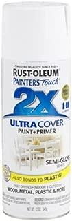 Rust-Oleum 249060 Painter's Touch Multi Purpose Spray Paint, 12-Ounce, White
