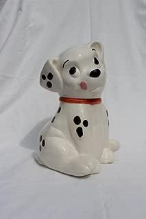 Vintage Disney Treasure Craft 101 Dalmatians Roly Cookie Jar