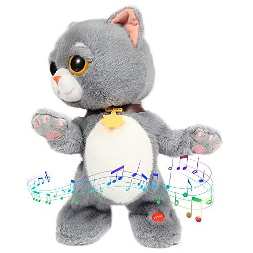 gebra Plush Toys Talking Cat Stuffed Animals for Baby Toddler Boys and Girls  14
