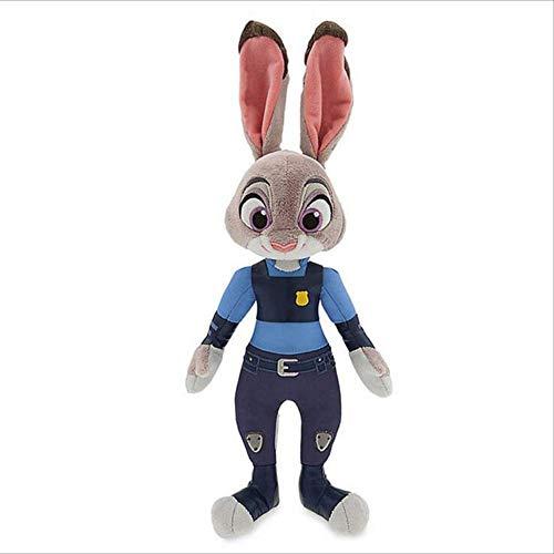 hzbftoy Zootopia Juguetes De Felpa, Conejo Judy Hopps & Fox Nick Wilde Felpa Suave Relleno Animales Juguetes Muñeca para Niños Regalo con Etiqueta, 16-30cm 23cm Rabbit Judy Hopps