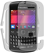 Skinomi Full Body Skin Protector Compatible with BlackBerry Curve 9360 (Screen Protector + Back Cover) TechSkin Full Coverage Clear HD Film