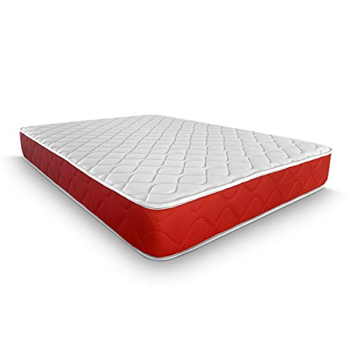 Duermete viscoelástico Lite Reversible (colchón a 2 Caras), Muy Transpirable, Blanco, 135 x 200