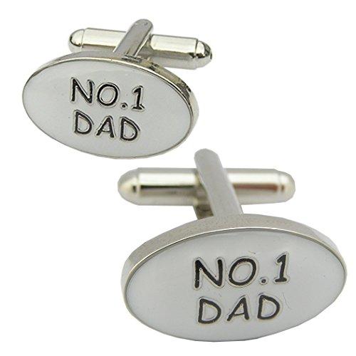 Wow Cufflinks - Boutons de Manchette - Fête des Pères - No 1 Dad