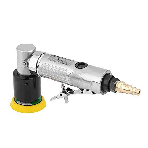 Cocoarm 80mm Poliermaschine Winkelschleifer Mini Druckluft Exzenterschleifer 2 Zoll Pneumatische Polierer 15000R / min