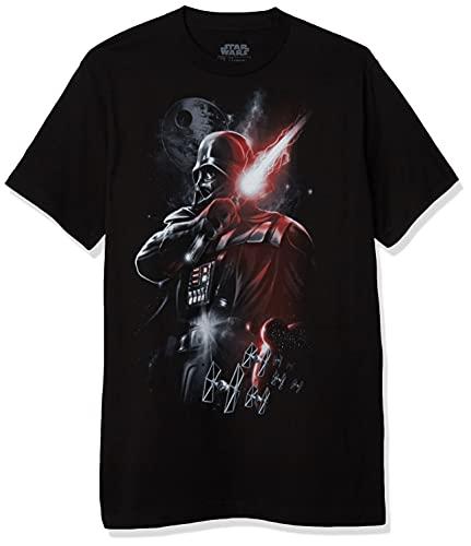 Star Wars Herren Men's Dark Lord Darth Vader Graphic T-Shirt, schwarz, 4X-Groß