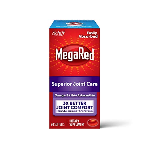 MegaRed Joint Care Omega-3 Krill Oil, 60 Softgels