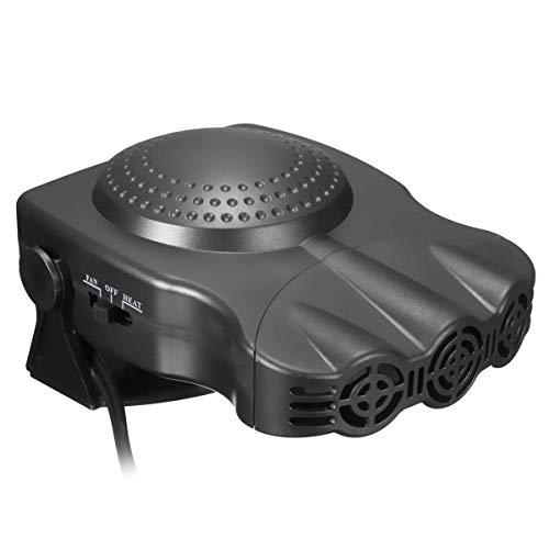 Fried Práctico 12V 150W 2 en 1 Calentador portátil del automóvil Hot Coolhead Ventilador de Parabrisas Demister Defroster Detectar