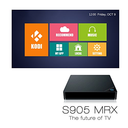 MRX Android 5.1 4 K Full HD Smart TV Box Amlogic Octa Core 2 G/8 G KODI WIFI de 64 bit y # xFF0 C; Nuevo y exclusivo patente: Amazon.es: Electrónica
