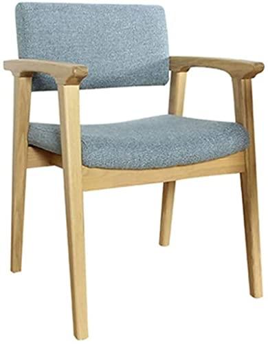 Taburete de bar con ruedas para oficina o escritorio, taburetes de bar con respaldo y taburetes de barra de altura para mostrador, silla tapizada, 2 colores (color: azul) (color: azul)