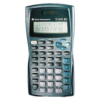 Texas Max 81% OFF Instruments TI-30X2S Two-Line Scientific New sales Calculator