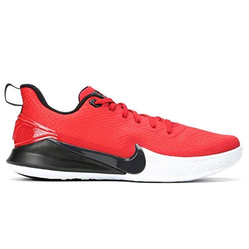 Nike Men's Mamba Focus Basketball Shoe (9, Red/Black)